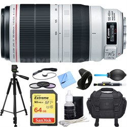 EF 100-400mm f/4.5-5.6L IS II USM Lens Deluxe Accessory Bundle