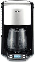 FME4 12 Cup Glass Programmable Coffeemaker
