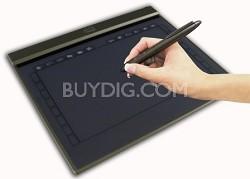 "10""x6"" widescreen ultra slim USB graphic Tablet w/ 28  programmable hot keys"
