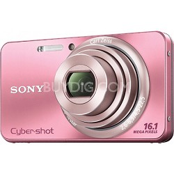 Cyber-shot DSC-W570 16MP Pink Digital Camera