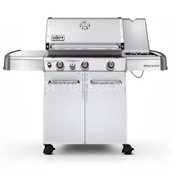 S-330 Stainless-Steel 637-Square-Inch 38,000-BTU Liquid-Propane Gas Grill