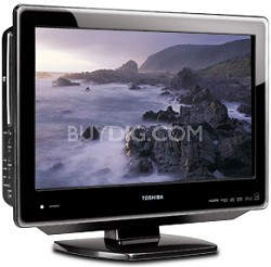 "22LV610U - 22"" High-definition LCD TV w/ built-in DVD Player (Hi-Gloss Black)"