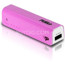 FUEL+ Mobile Rechargeable Battery 2200 mAh - Pink