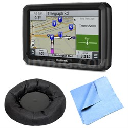 """dezl 770LMTHD 7"""" GPS with Lifetime Map and Traffic Updates Dash Mount Bundle"""