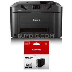 MAXIFY MB5020 Wireless Small Office All-In-One Printer + Bonus Black Ink Bundle