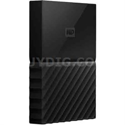 WD 4TB My Passport Portable Hard Drive - Black