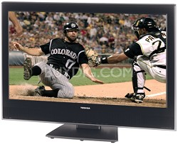 "32HLV66 - 32"" TheaterWide High-definition LCD TV w/ built-in DVD Player"