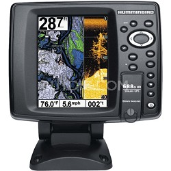 "688ci HD DI 5"" Color Screen GPS/Sonar Combo Fishfinder"
