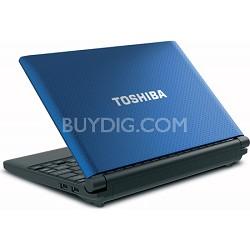 """Mini 10.1"""" NB505-N508BL Netbook PC - Blue Intel Atom processor N455"""