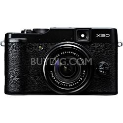 X20 12MP Digital Camera - Black