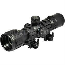 "3-9X32 1"" BugBuster Rifle Scope, AO, RGB Mil-dot, QD Rings (SCPM392AOLWQ)"