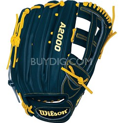 A2000 Ryan Braun Game Model Fielder Glove - Right Hand Throw - Size 12.75""