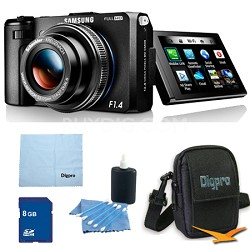 EX2F Smart Digital Camera w/ F1.4 Lens 8GB Bundle