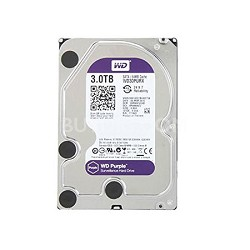 "Purple WD30PURX 3TB Surveillance 3.5"" Internal Hard Drive"