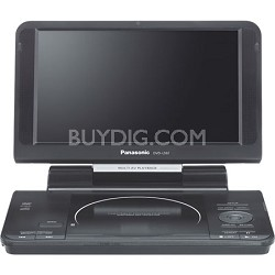 "DVD-LS92 9"" LCD Portable DVD/ CD Player"