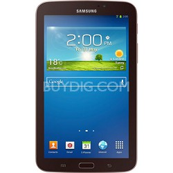 "Galaxy Tab 3 7.0"" Gold-Brown 8GB Tablet - Manufacturer Refurbished"