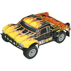 SC4.18 RTR 2.4GHz Truck with Battery and Charger, 1/18 Scale