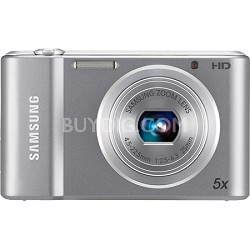 ST66 16 MP 5X Compact Digital Camera - Silver