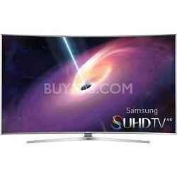 """UN55JS9000 Curved 55"""" 2160p 3D Smart Full 4K SUHD LED TV UN55JS9000FXZA"""