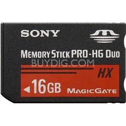 16 GB Memory Stick  PRO-HG DUO HX High Speed