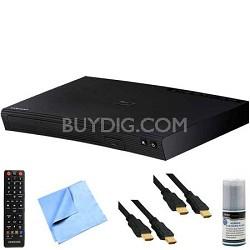 BD-J5700 - Wi-Fi Blu-ray Disc Player Plus Hook-Up Bundle