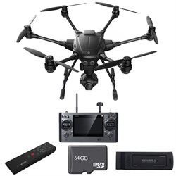Typhoon H RTF Hexacopter Drone CGO3+ 4K Camera + Wizard Wand & Battery Bundle