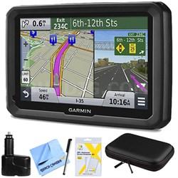 "dezl 570LMT 5"" Truck GPS Navigation System w Lifetime Map Traffic Updates Bundle"