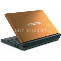 """Mini 10.1"""" NB505-N508OR Netbook PC - Orange Intel Atom processor N455"""