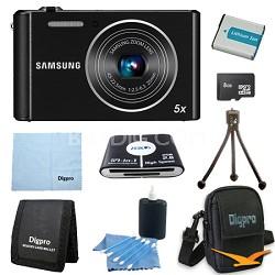 8 GB Bundle ST76 16 MP 5X Compact Digital Camera - Black