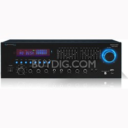 RX55URIBT - Professional Receiver USB/SD Card Inputs Bluetooth Compatibility