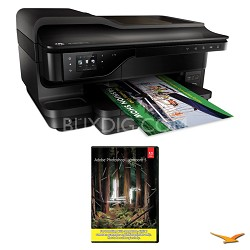 Officejet 7610 Wide Format e-All-in-One Printer w/ Photoshop Lightroom 5 MAC/PC