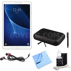 Galaxy Tab A 16GB 10.1-inch Tablet & Accessories Bundle - White