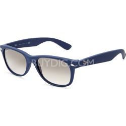 New Wayfarer 55MM Blue Sunglasses With Light Grey lens