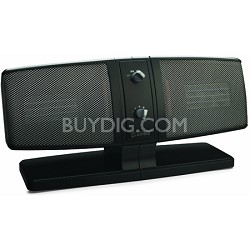 Portable Side-by-Side Two Zone Ceramic Heater - OPEN BOX