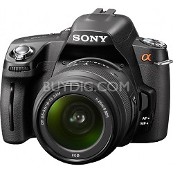 "Alpha DSLR-A390L 14.2 MP Digital SLR 2.7"" Tiltscreen and 18-55mm - OPEN BOX"