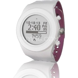 Zone R415 Heart Rate Monitor - White/Orchid (LTK7R41502)