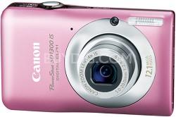 Powershot SD1300 IS 12MP Digital ELPH Camera (Pink)
