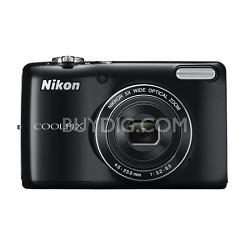 COOLPIX L26 16.1 MP 3.0-inch LCD Digital Camera - Black