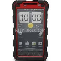 HC Case for HTC EVO (Black/Red)