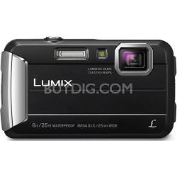 LUMIX DMC-TS30 Active Lifestyle Tough Black Digital Camera