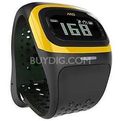Alpha 2 - Bluetooth Smart Heart Rate Watch - Yellow Trim (Unisex Strap) 58P-YLW