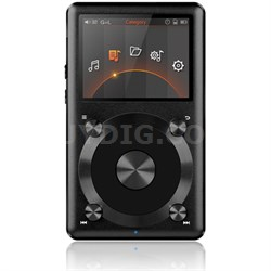X3-II High Resolution Lossless Music Player - Black