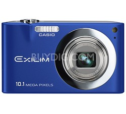 "Exilim EX-Z100 10.1MP Digital Camera with 2.7"" LCD (Blue)"