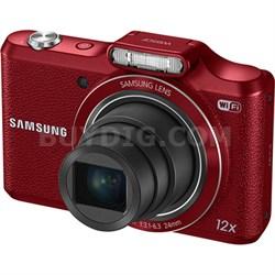 WB50F 16.2MP 12x Opt Zoom Smart Digital Camera - Red - OPEN BOX