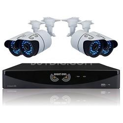 8 Channel 960H DVR, HDMI, 1 TB HDD, 4x900 TVL Cameras (100ft NV)