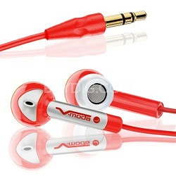Bass Freq Earbuds - Rocker Red