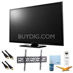 "60"" Plasma 1080p 600Hz Smart HDTV Plus Tilting Mount & Hook-Up Bundle (60PB6600)"