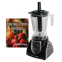 Montel Williams Elite 8-Speed Blender, Black/Stainless Steel - JLA-8 - OPEN BOX