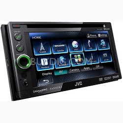 "Bluetooth DVD/CD/USB Receiver with 6.1"" WVGA Touch Panel Monitor (KWAV61BT)"
