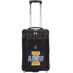 NCAA Denco 21-Inch Carry On Luggage -  Illinois Illini